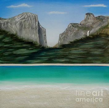 Yosemite Beach by John Lyes