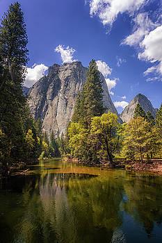 Yosemite Cathedral Rocks by Andrew Soundarajan