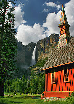 Yosemite Chapel by Tom Kidd