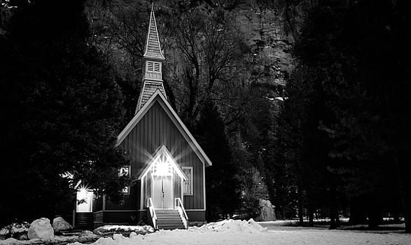 Yosemite Church by Nick Borelli