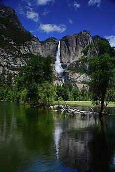 Yosemite Falls from Near Swinging Bridge by Raymond Salani III
