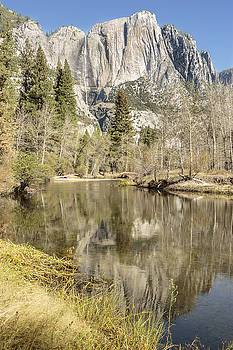 Yosemite Falls Reflection Light by Focus On Nature Photography