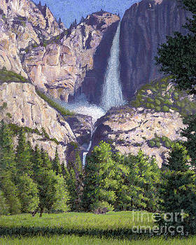 Yosemite Falls by Stephen Shub
