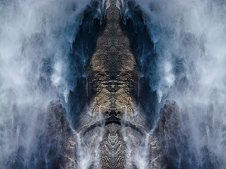 Yosemite Falls Water Mirror by Kyle Hanson