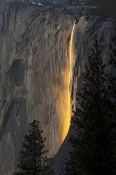 Yosemite Fire Fall by Keith Marsh