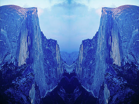 Yosemite Half Dome Mirror  by Kyle Hanson