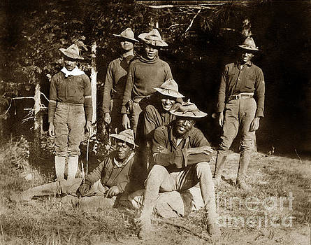 California Views Mr Pat Hathaway Archives - Yosemite National Parks Buffalo Soldiers circa 1899