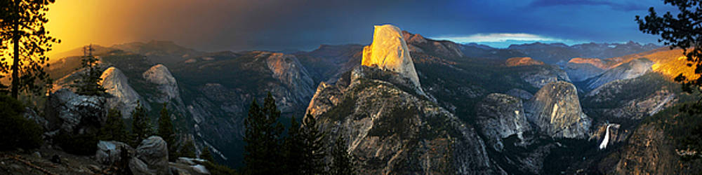 Yosemite Panorama by Nolan Nitschke