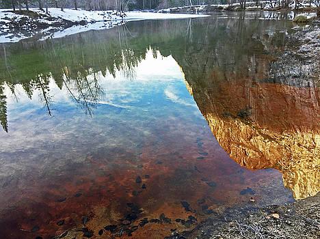 Yosemite Reflections - December 05 2016 by Walter Fahmy