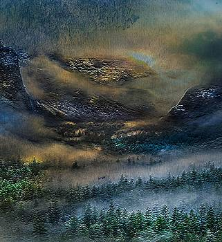 Yosemite Surrealism by Digital Art Cafe