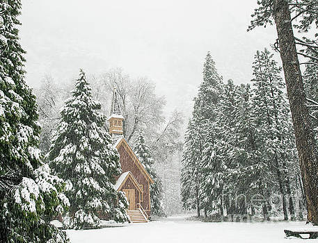 Wayne Moran - Yosemite Valley Chapel Winter
