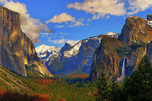 Yosemite Valley Tunnel View by Greg Norrell