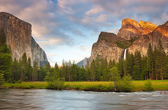 Yosemite Valley View by Buck Forester