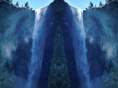Yosemite Waterfall Mirror by Kyle Hanson