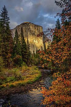 Yosemite's El Capitan in the Fall by Jeff Sullivan