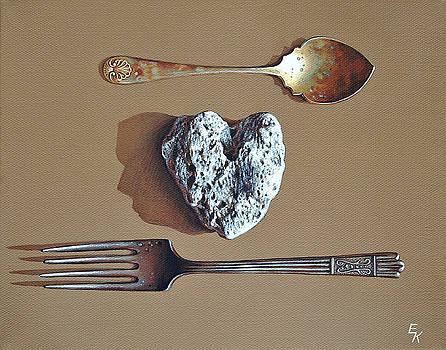 You and Me by Elena Kolotusha