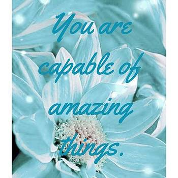 You Are Capable by Kimberly Landry