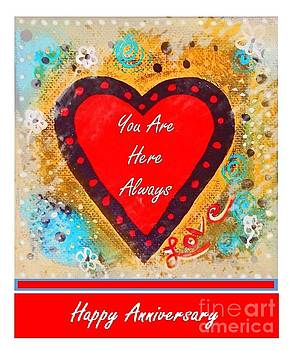 Sharon Williams Eng - You Are Here Happy Anniversary