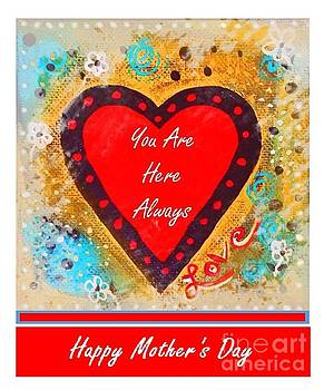 Sharon Williams Eng - You Are Here Happy Mother