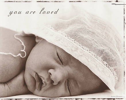 You Are Loved by Anne Geddes