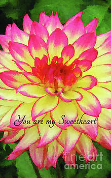 You are my Sweetheart by MS  Fineart Creations