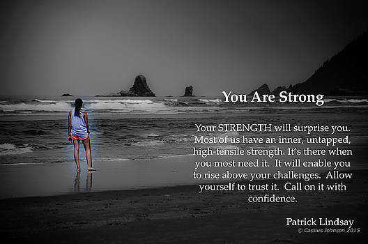 You Are Strong by Cassius Johnson