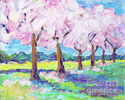 Blossoming Spring by Peggy Johnson