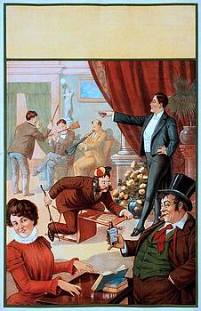 You dreamt you were a hypnotist? Stock poster, 1900 by Vintage Printery