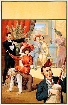 You dreamt you were a hypnotist? Stock poster, ca. 1900 by Vintage Printery