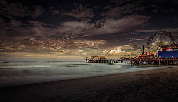 Enchanted Pier by Gene Parks