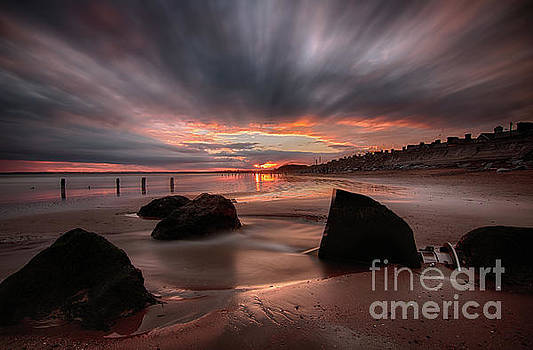 Youghal Sunset 25 by Marc Daly