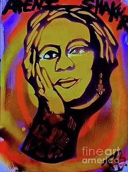 Young Afeni Shakur by Tony B Conscious