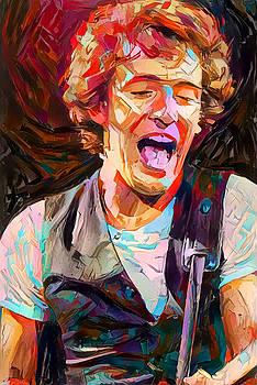 Young Bruce by Paul Van Scott