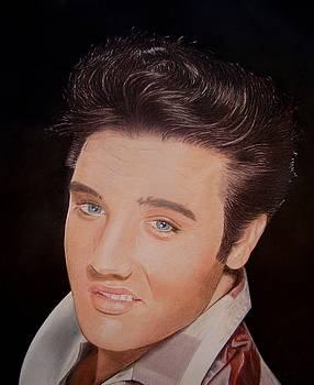 Young Elvis by Gary Fernandez