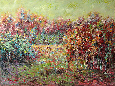 Young Forest by Liudvikas Daugirdas