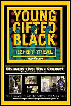 Young Gifted And Black Thee Encore Variant by JaFleu