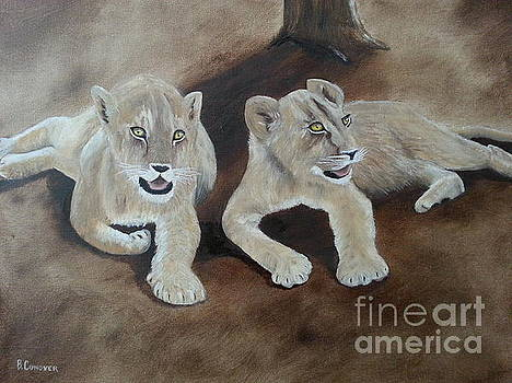 Young Lions by Bev Conover