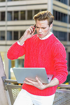 Alexander Image - Young Man Working Remotely 15041242