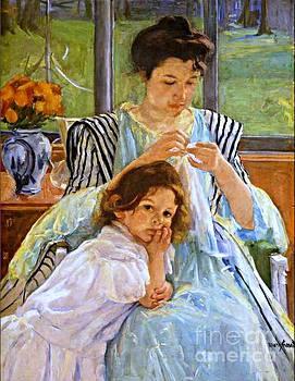 Cassatt - Young Mother Sewing