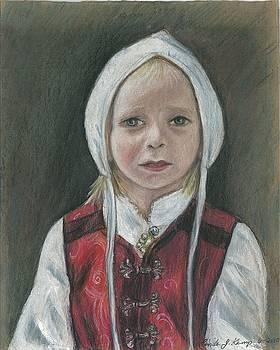Young Norwegian Girl            by Linda Nielsen