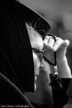Isaac Silman - young Orthodox  nun.