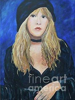 Young Stevie Nicks by Frankie Picasso