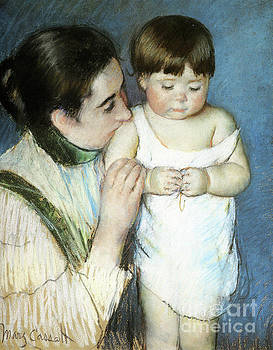 Cassatt - Young Thomas and His Mother