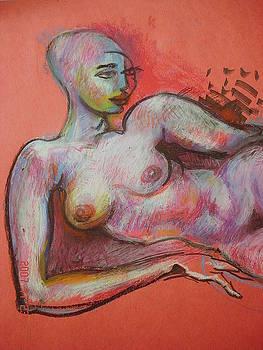 Young Woman by Emin Guliyev