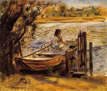 Renoir - Young Woman In A Boat