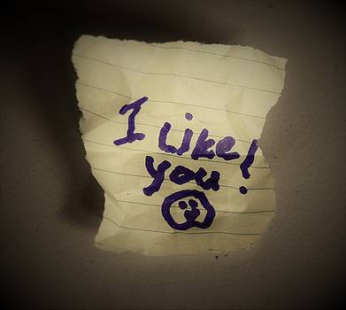 Your 1st Love Note by John Glass