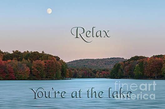 You're at the Lake by Sharon Seaward