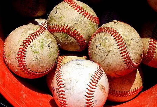 Youth Baseball 6 by David Gilbert