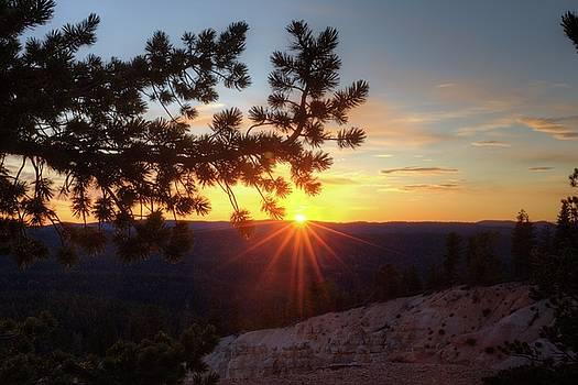Yovimpa Point Sunset 2 by Jim Allsopp