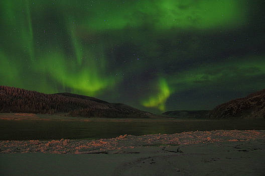 Yukon Northern Lights 5 by Phyllis Spoor